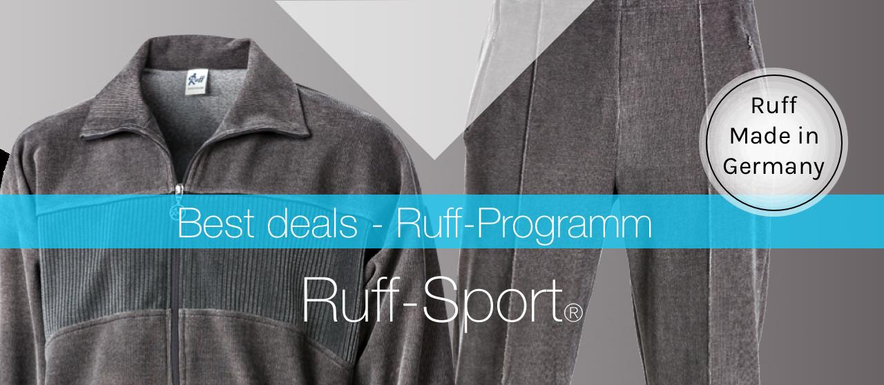 Zu Ruff-Sportvelour